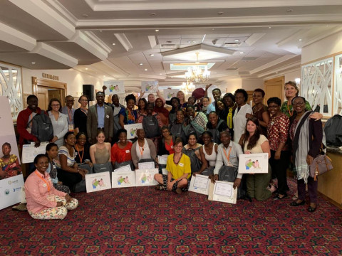 International Confederation of Midwives hosts Helping Mothers Survive Essential Care for Labor & Birth (ECL&B) training workshop in Namibia!